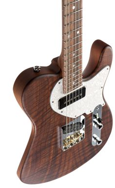 "Suhr Classic T. This custom Classic T features: a Claro Walnut, 2-Piece, 3/16"" top finished in Natural Satin, Genuine Mahogany, 2-Piece body, Pau Ferro neck, Macassar Ebony fingerboard fingerboard, 3 Saddle Vintage T bridge, S90, SC, Neck, Black, and Classic T, SC, Bridge, Black."