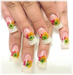 12 Colors Real Nail Dried Flowers Nail Art Decoration Diy Tips With