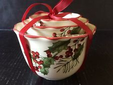 Better Home And Gardens Christmas Ideas 4 better homes and gardens heritage collection winter christmas new 2014 better homes and garden heritage collection mistletoe 3 pc bowl set workwithnaturefo