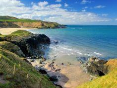 Stunning view of the North Welsh Coast near Aberdaron, Lleyn, Gwynedd, Wales, UK