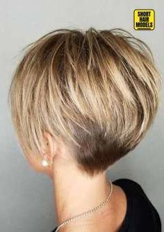 35 Short Haircut Styles for Women for Short Haircut Styles for Women for 2019 For this, the fair sex carefully selects wardrobe items, taking into account the latest fashion trends, as wel…, Short Hairstyles – Hair Women Latest Short Hairstyles, Short Hairstyles For Thick Hair, Short Pixie Haircuts, Short Hair Cuts For Women, Bob Hairstyles, Casual Hairstyles, Pretty Hairstyles, Short Hair Long Bangs, Indian Hairstyles