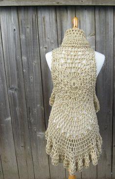 Circular Vest Crochet Pattern