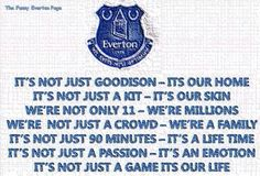 It's not just Everton Liverpool Home, Liverpool Football Club, Football Team, I Hate Love, Goodison Park, Everton Fc, Toffee, Mac, Bedroom Decor