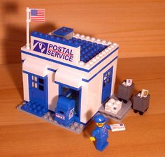 Custom Post Office Set for Town City Train Lego Postal Service Mail Carrier Gift | eBay
