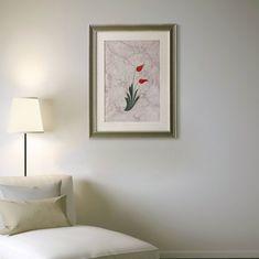 Turkish tulip painting framed, ebru art, fluid art picture large wall decor, pastel p Purple Painting, Tulip Painting, Art Wall Kids, Diy Wall Art, Wall Decor, Vintage Paint Colors, Yellow Accent Walls, Ebru Art, Marble Art