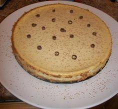 Fresh banana cheesecake! Yum