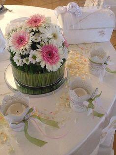 Il verde e il rosa si sposano bene !!!!