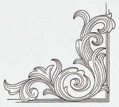 Miniature Menagerie Engraved Corner_image