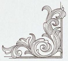 Miniature Menagerie Engraved Corner_image