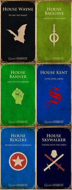 Houses of Nerd- is it possible for all these to be one house???