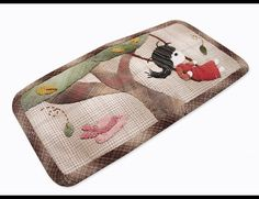 Girl Fabric Purse DIY Homemade Wallet Sewing Project by TheSewShow