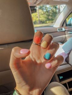 Aycrlic Nails, Get Nails, Hair And Nails, Stiletto Nails, Summer Acrylic Nails, Best Acrylic Nails, Summer Nails, Pastel Nails, Spring Nails