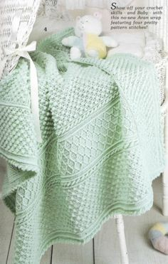 19 Easy Crochet How to Crochet Afghans Patterns Nineteen Stitches Leisure Art   eBay