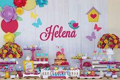 Jardim da Helena {Festa personalizada}                              …