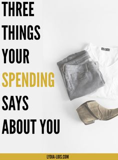 Think your spending accurately shows who you are? Let's check. Let me help you see your spending habits and financials from a different view. Get your bank account and statement ready and lets do some fact checking! Three Things Your Spending Says About You!