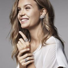 Danish Josephine Skriver for Swarovski Valentines 2016 Josephine Skriver, Dark Blonde Hair Color, Natural Dark Blonde, Hair Colour, Dear Daughter, Jewelry Model, Men's Jewelry, Body Jewelry, Jewelry Watches