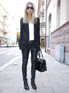 Style By Kling -- Leather Pants