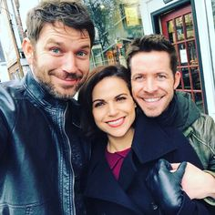 """""""Check us out on tonight's episode of #onceuponatime #ouat #sheriff #robinhood"""" - Wil Traval via Instagram."""