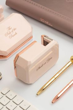 SHOP FOR HER: Sign the dotted line with the charming SERINAY pen. Totally bowtiful with its smooth functionality and lustrous metallic finish, this fancy ballpoint will be your go-to for jovial jotting.