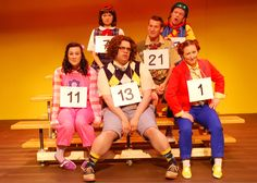 The Cast of SPELLING BEE