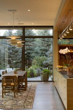 Dining room Design Kern Residence by Semple Brown Design / Castle Pines Colorado / Cherry Hill Village Colorado