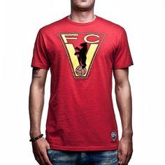 Show details for COPA Football - FC Vorwarts Berlin Vintage T-Shirt - Red