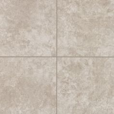 Mohawk Andela Wall - Grey 12 x 12 square with Bliss accent tile and 18 x 18 diagonal on floor