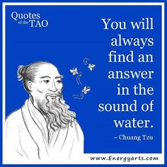 Feeling stressed? Visit a source of moving water. This may be a stream, an ocean, or a waterfall. Sit silently listening to the water.