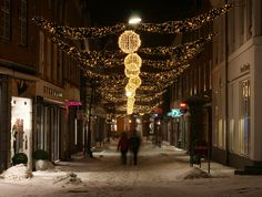 Viborg Christmas street illumination 2010-11
