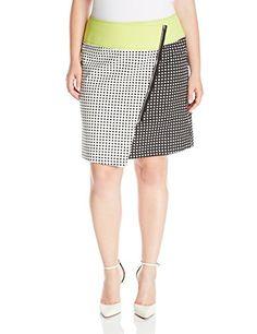Modamix Women's Plus-Size Scuba Printed Wrap Skirt, Edgy Tropical Print, 1X Modamix http://www.amazon.com/dp/B00X3OLJKU/ref=cm_sw_r_pi_dp_wWTewb0839BD5