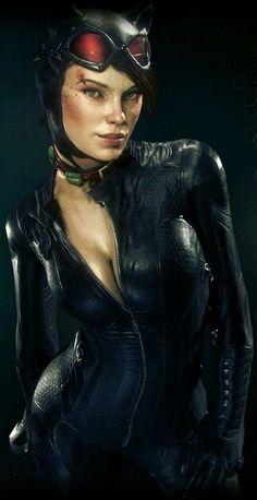 Resultado de imagem para catwoman arkham knight dlc
