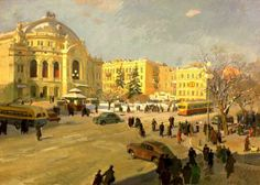 Александр Хвостенко-Хвостов - Оперный театр. 1954 г.