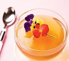 Gelatina de té verde con naranja | Cocina Vital