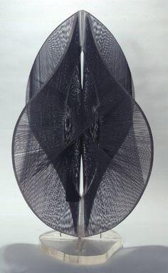 Naum Gabo, Linear No 2, Variation 1962-65