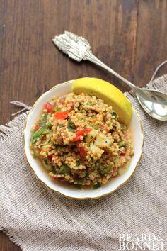 Millet Tabbouleh (Gluten-Free and Vegan) [Beard + Bonnet]