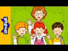 Goodbye! - Learn English for Kids Song by Little Fox - YouTube English Idioms, English Lessons, Learn English, Good Bye Songs, Learning English For Kids, Teaching English, Toddler Videos, English Clothes, Kids Songs