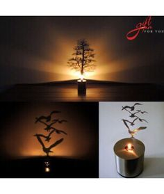 Shadow Projection Lamp Romantic Atmosphere Night Light Candle Home Desktop Decor LED Candle projection night light Table Lamps For Bedroom, Bedside Table Lamps, Home Candles, Led Candles, Childrens Lamps, Star Night Light, Desktop Decor, Tree Lamp, Novelty Lighting