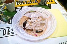 Falafel sandwich at L'As du Fallafel.