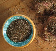 ane Griffiths, author of Jane's Delicious Urban Gardening (Sunbird Publishers) makes a spice rub for …