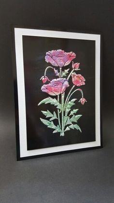 Sweet Poppy Stencils - Mica Poppy