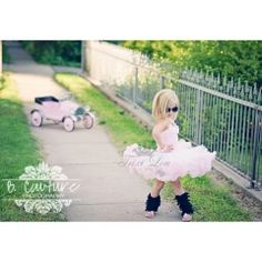 Baby Pink & White Pettidress $70.00