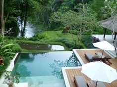 The Four Seasons Resort Bali is located in the village of Sayan, Bali.