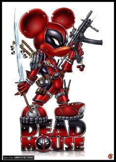 Deadpool Mickey - MTG - Sleeves