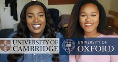 Liked on YouTube: HOW WE GOT INTO OXFORD & CAMBRIDGE | OUR EXPERIENCE & TIPS http://youtu.be/ICmuDCpDARQ Hey Everyone  I hope you are all doing good. Here is the much anticipated video of me and my bestfriend Renee talking about how we got into Oxford and Cambridge. We were the first two black girls in our schools to go to Oxbridge and I believe we were 2 of 3 people our school had ever sent to Oxbridge so we were really proud of ourselves. And for this reason HELPING BLACK PEOPLE INTO…