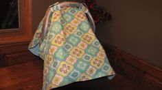 Car seat cover/ Canopy Cover by mydoodlebugshoppe on Etsy, $22.50