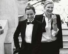 Emily Blunt and Cate Blanchett for IWC