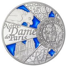 Notre Dame Silbermünze aus Frankreich!