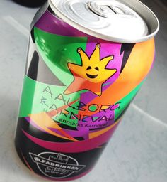 Funny - My old logo design for Aalborg Karneval is now on a beer can #cheers