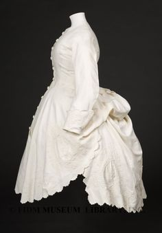 Polonaise bodice, FIDM, 1869-74