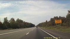 Unterwegs in Russland Autobahn M1 #Moskau - Minsk #footage #video #YouTube